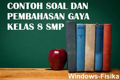 CONTOH SOAL DAN PEMBAHASAN GAYA KELAS 8 SMP