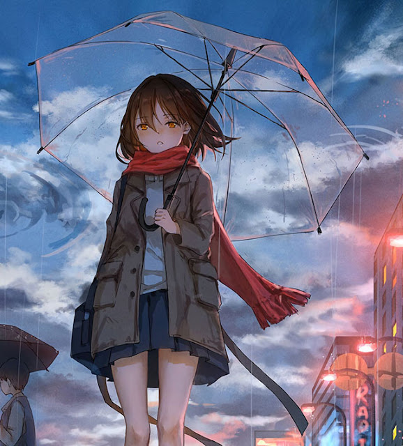 cute  girl anime wallpaper for mobile phone