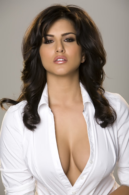 Shanvi Cute Hd Wallpapers Sunny Leone Hot In White Shirt Tight Hd Group Sex