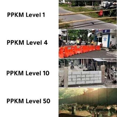 ppkm diperpanjang sampai level 50 titan