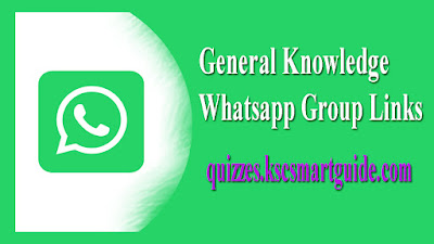 General Knowledge-Whatsapp Group Links