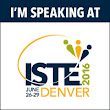 I'm Speaking at ISTE!