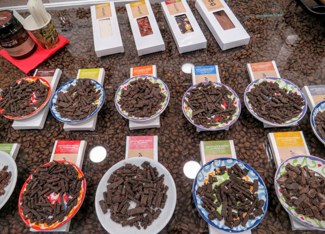Sicilian Food - Modica chocolate samples