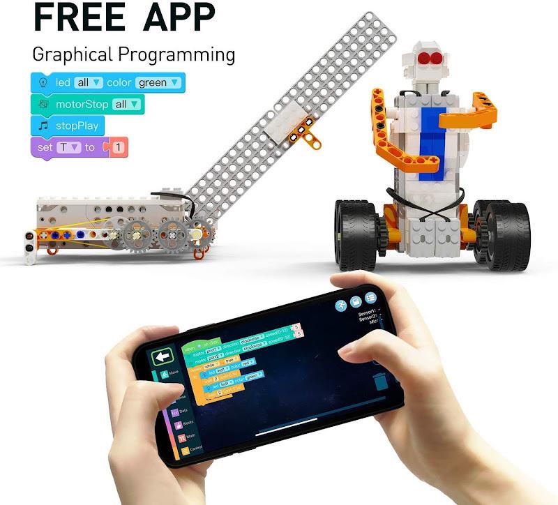 Apitor SuperBot, Educational Building Block 18 in 1 Robot Kit