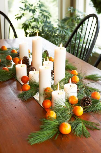 Quick and Easy Christmas Decorating Ideas With Candles