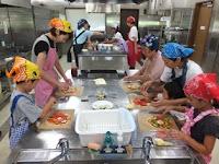 8月4日(金) 里山クッキング「夏野菜の簡単ピザ」