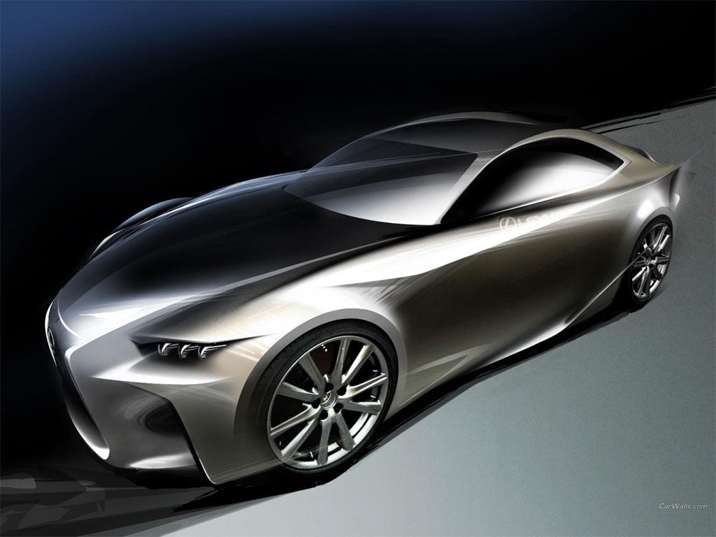 Lexus Concept Car: 2012 LEXUS LF-CC CONCEPT