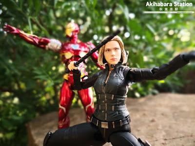 S.H.Figuarts Black Widow + Efecto Explosión de Avengers: Infinity War - Tamashii Nations