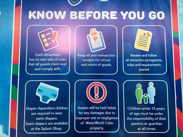 WaterWorld Cebu Know Before You Go