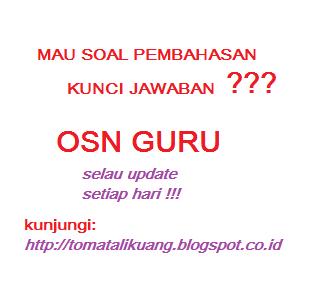 SOAL DAN PEMBAHASAN OSN GURU (OGN) MATEMATIKA SMA/SMK LENGKAP