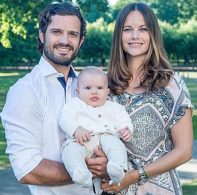 Royal Family Around the World Swedish Prince Carl Philip and – Royal Family Baby Announcement