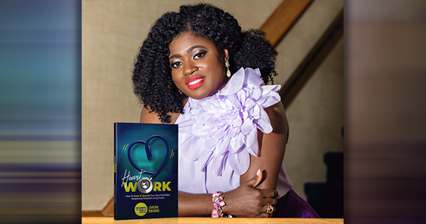 Jane Nk Nwanne, author of HeartWork