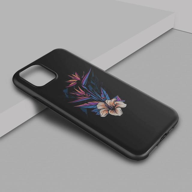 Mockup Blackmatte Case iPhone 12 Pro