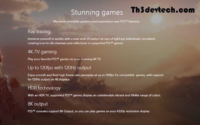 مميزات PlayStation 5 التى تم الاعلان عنها