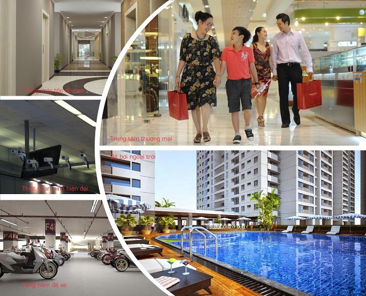 Tiện ích cao cấp tại chung cư Gelexia Riverside Tam Trinh