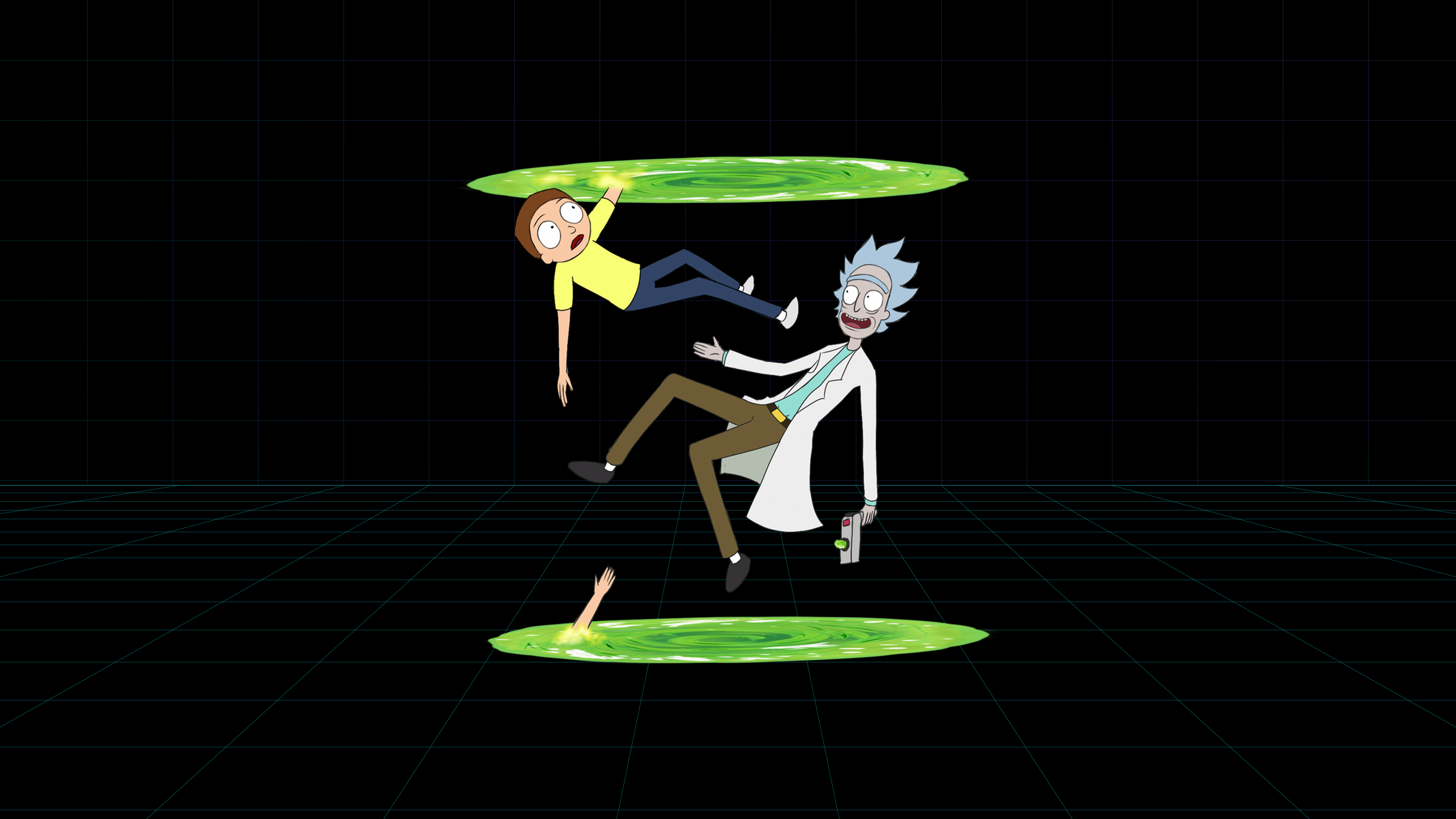 Rick And Morty 4k Heroscreen Cool Wallpapers