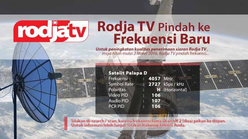 Profil TV Live Streaming : Rodja TV