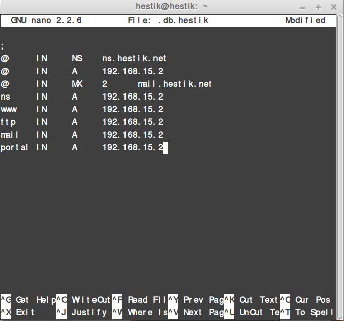 Konfigurasi DNS Server Debian 8.2 Bind9