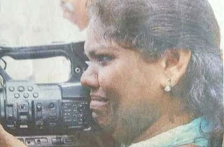 Injury and punch hit and attackers could not stop the woman journalist shazila Cameras war