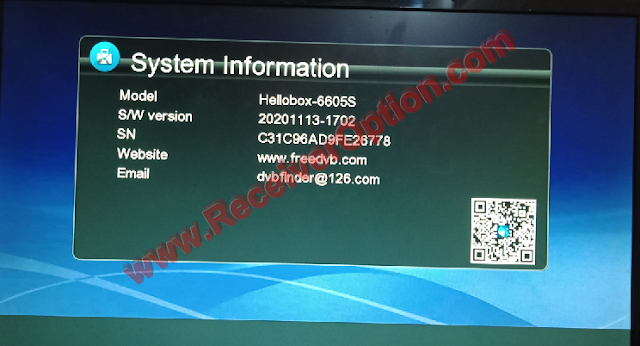 GX6605S HW203 SERIES NEW SOFTWARE WITH SCAM+ ONE YEAR FREE SERVER