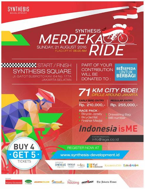 Event Sepeda Jakarta - Synthesis Merdeka Ride