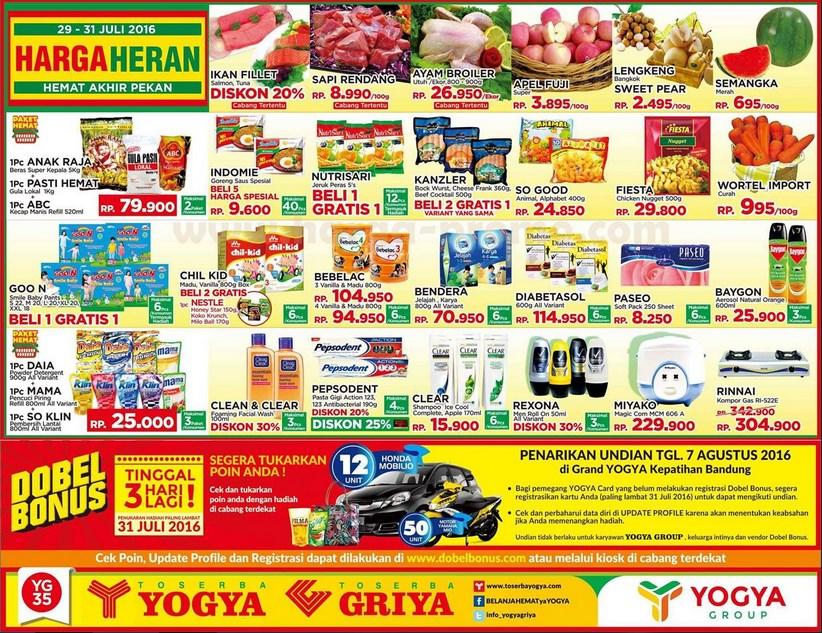 Promo Jsm Jum At Sabtu Minggu Yogya Swalayan Juli Tahun Ini Katalog Promo Menarik