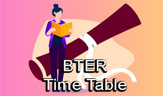 BTER Time Table