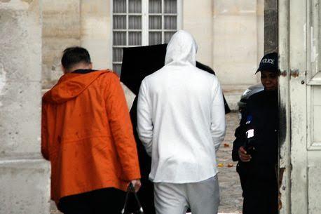 Benzema arrested.