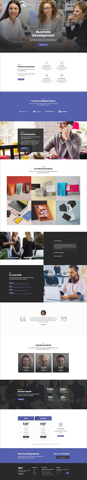 Erup - Business Template Kit