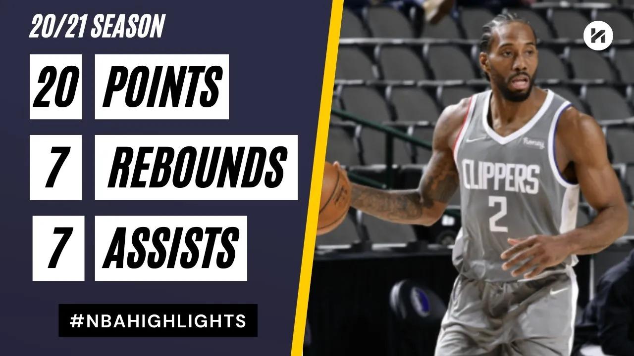 Kawhi Leonard 20pts 7reb 7ast vs DAL | March 17, 2021 | 2020-21 NBA Season
