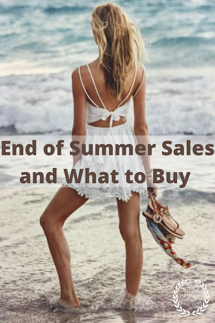 End of Summer Sales and What to Buy