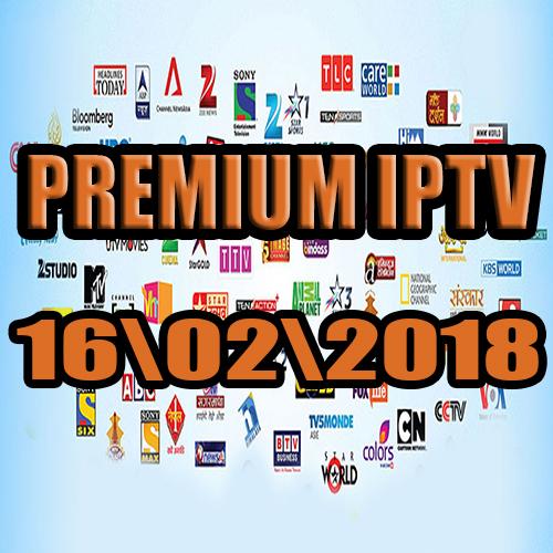 Free IPTV premium servers  16-02-2018