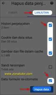 Cara Menghapus Riwayat Penelusuran Google