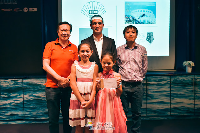 Winner of RICD 2018 online reef design competition is the young children who designed the turtle shape reef