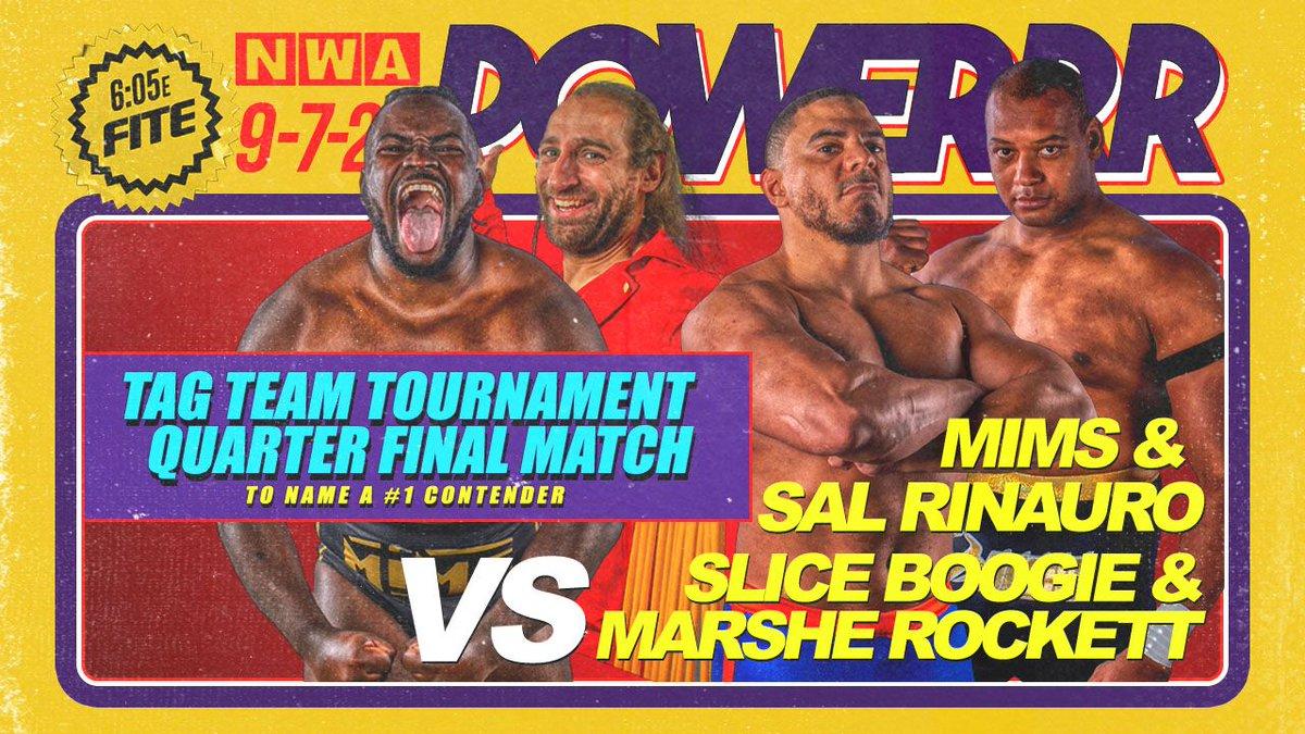Cobertura: NWA Powerrr (07/09/2021) – Próximo passo!