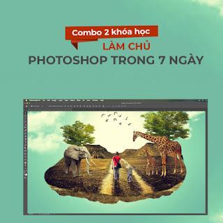 Bộ 2 khóa học làm chủ Photoshop trong 7 ngày ebook PDF-EPUB-AWZ3-PRC-MOBI