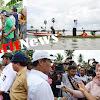 Menteri Pertanian RI, Tinjau Sawah Fuso/Gagal Panen di Wajo