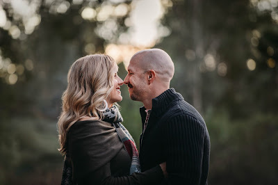 Couples portrait holiday family photos in San Diego CA by Morning Owl Fine Art Photography.