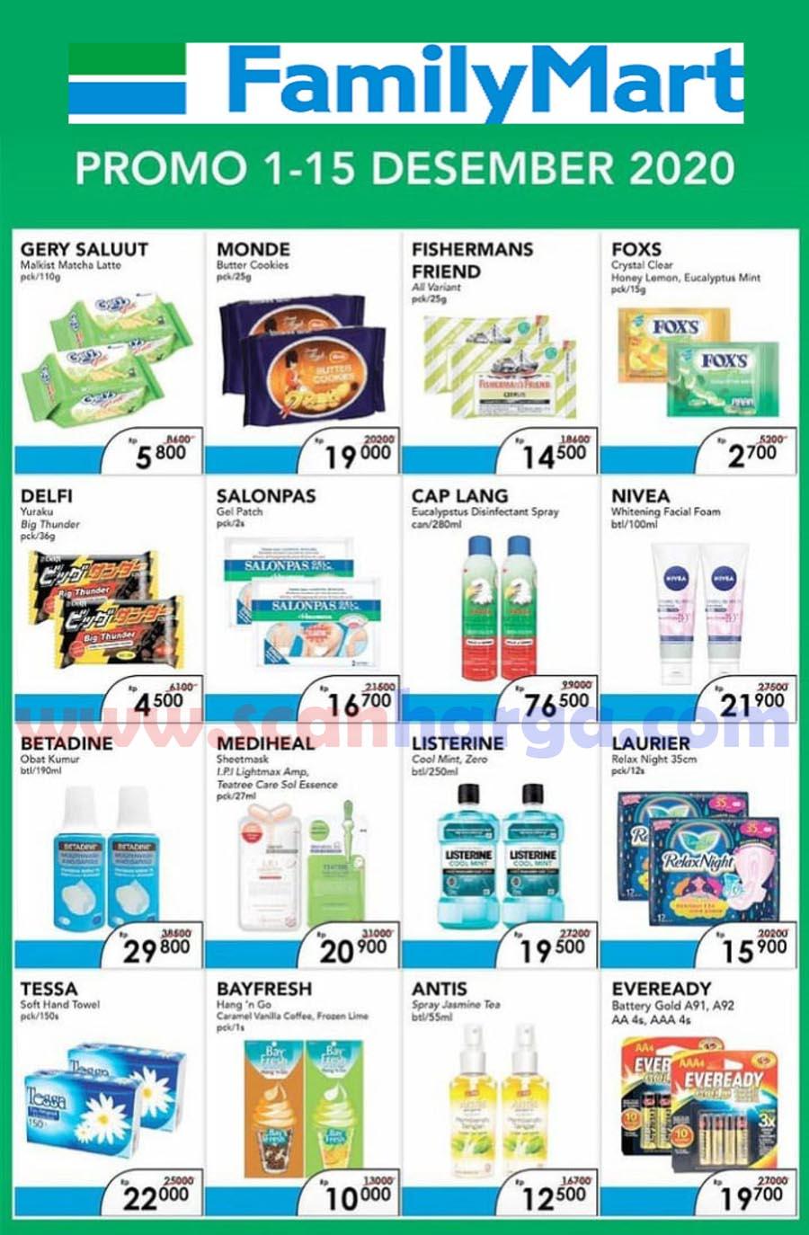 Katalog Promo Family Mart Periode 1 - 15 Desember 2020 2