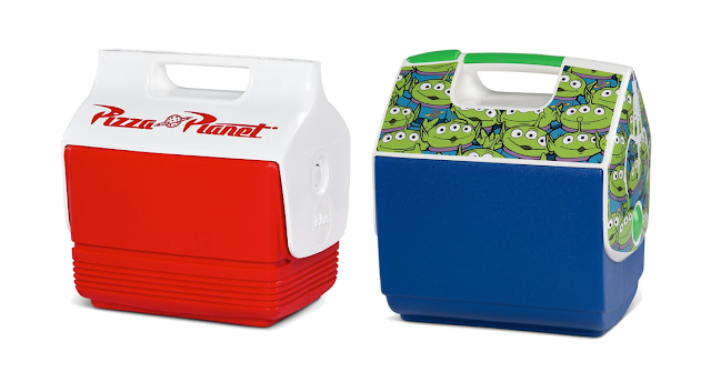 Pixar Fest Pizza Planet and Toy Story Igloo Coolers