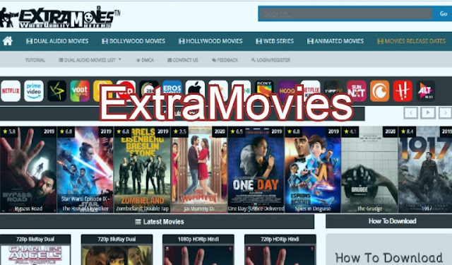 ExtraMovies Website 2020: Download Bollywood, Hollywood Movies
