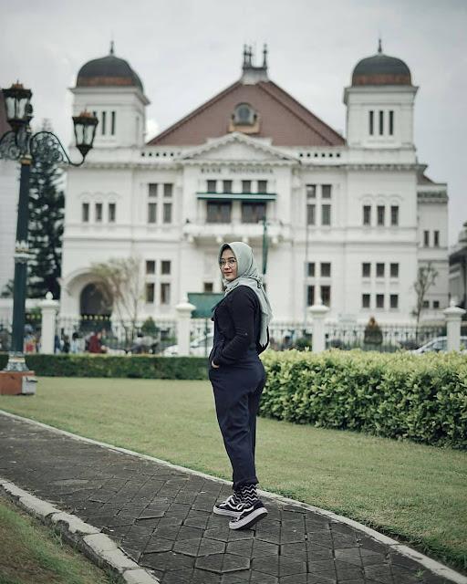Wisata ke museum Vredeburg Yogyakarta