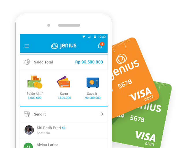 Aplikasi Jenius yang Memudahkan Akses Perbankan