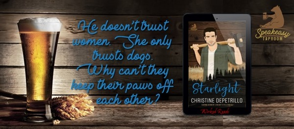 He doesn't trust women. She only trusts dogs. Why can't they keep their paws off each other?