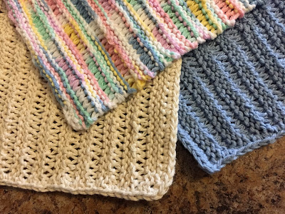 The Beginner Knitter - Learn to Knit a Dishcloth