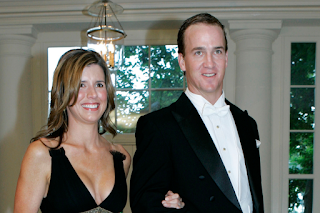 Peyton Manning With His Wife Ashley Thompson Png
