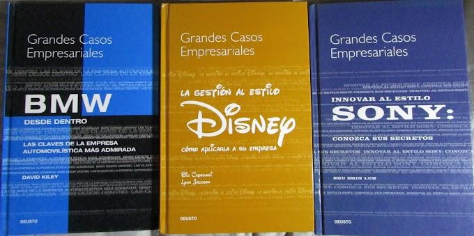 Libros Grandes casos empresariales (colección DEUSTO)