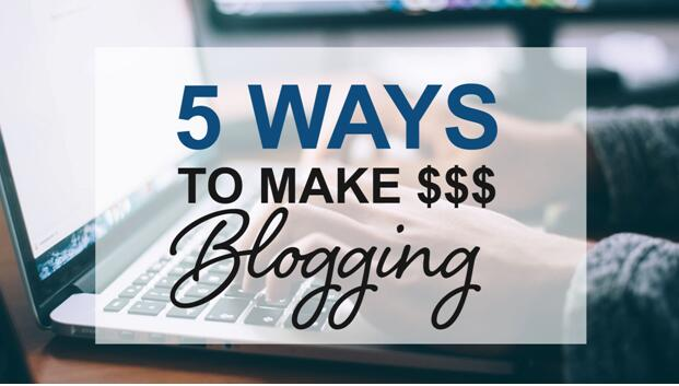 5 Ways to Make Money Writing Blogs  or Editing Wiki Pages