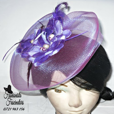 Buy purple hats and fascinators Nairobi Kenya