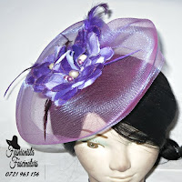 Buy purple fascinators Nairobi Kenya